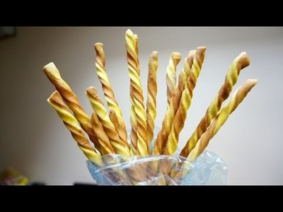 Make Tasty Two Tone Grissini Breadsticks - DIY Food & Drinks - Guidecentral