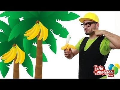 Palloncini modellabili Banana - Tutorial 99 - Feste Compleanni