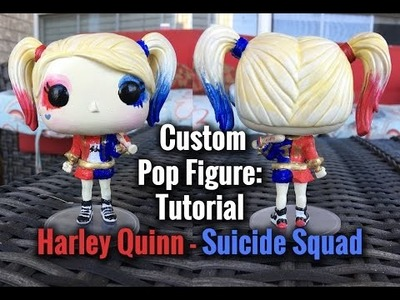 Suicide Squad Harley Quinn DIY Custom Pop Figure Tutorial