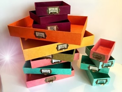 Upcycle an iPad box | DIY Tutorial