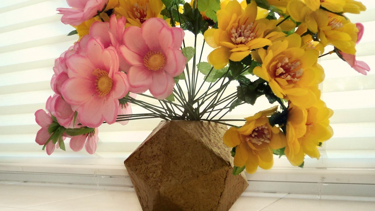 Create a Cool Gold Geometric Vase - DIY Home - Guidecentral
