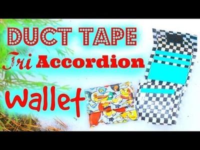 DIY Duct Tape Tri Accordion Smallet