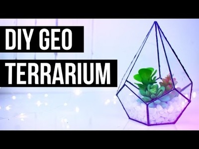 DIY GEOMETRIC TERRARIUM | Urban Outfitters + Pinterest Inspired