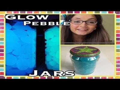DIY - How To Make Glow In The Dark Fairy Pebbles Jars