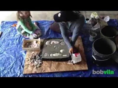 DIY Kids: Make a Garden Stepping Stone