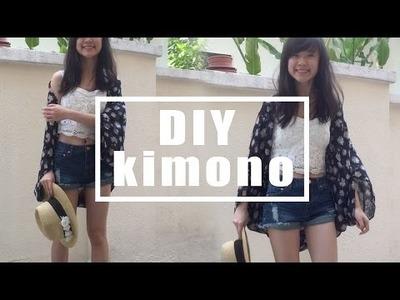 DIY kimono + style tips