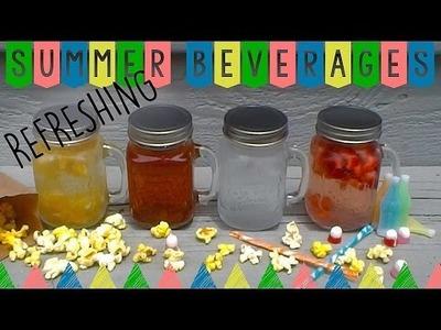 DIY Refreshing Summer Drinks ☼ (Non-Alcoholic)