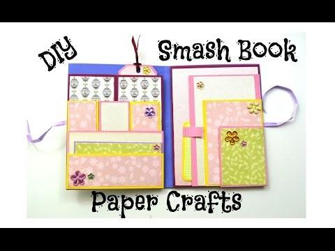 How to make an Easy Smash Book Slim - DIY Paper Crafts - Giulia's Art