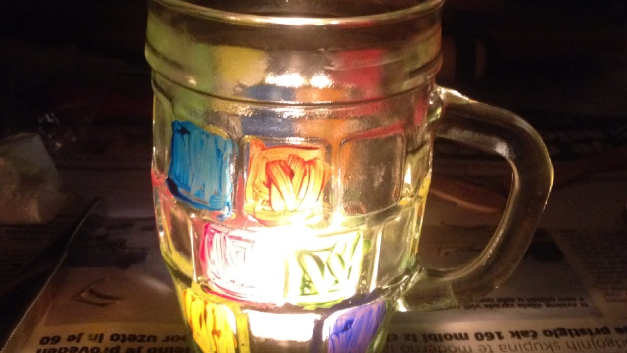 Make a Painted Cup Candle Holder - DIY Home - Guidecentral