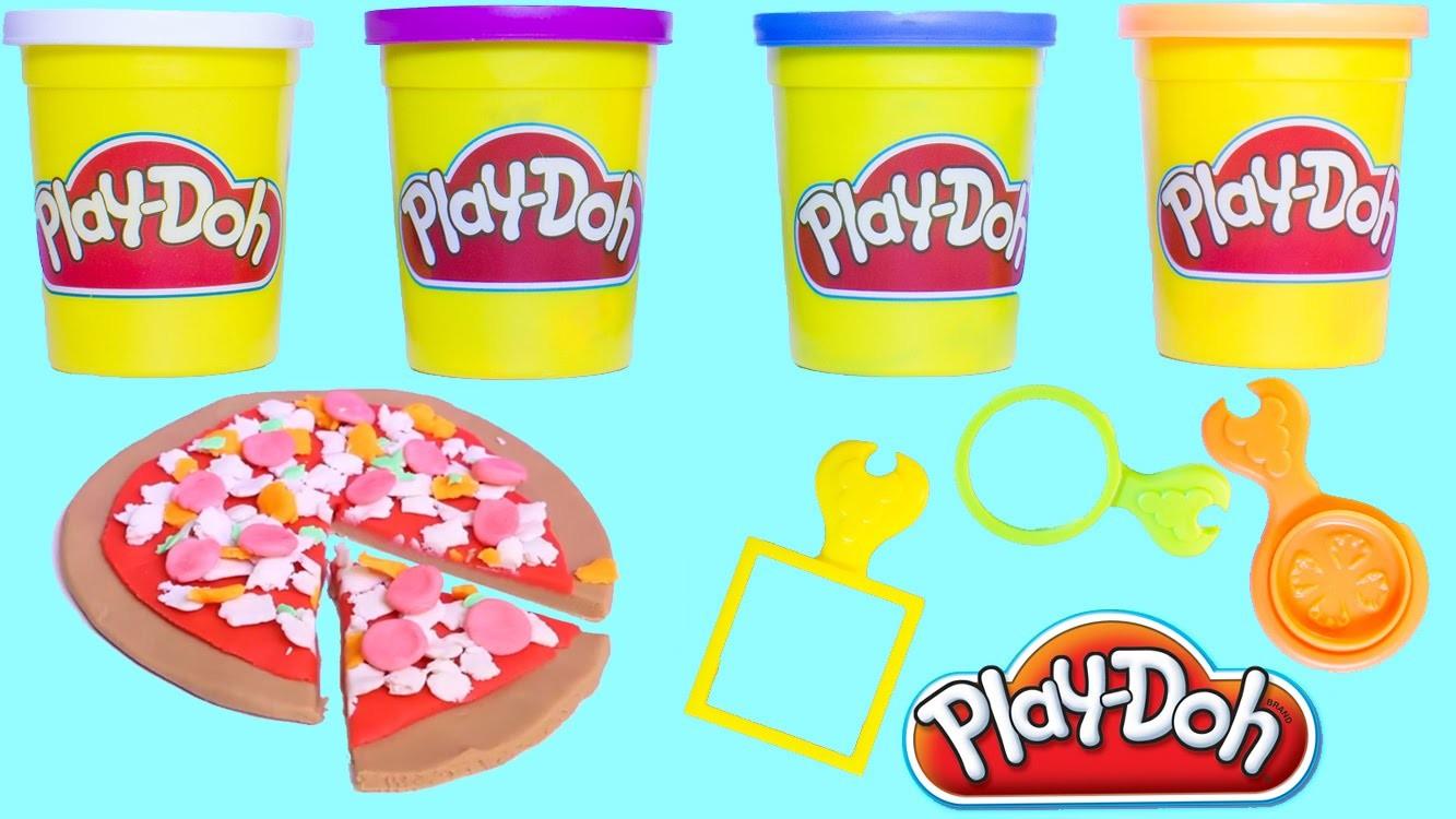 Play Doh Pizza How to Make Playdough Pizza DIY Mini Pizzeria Pizza Shop Play-Doh