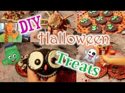 QUICK & EASY: DIY Halloween Treats!