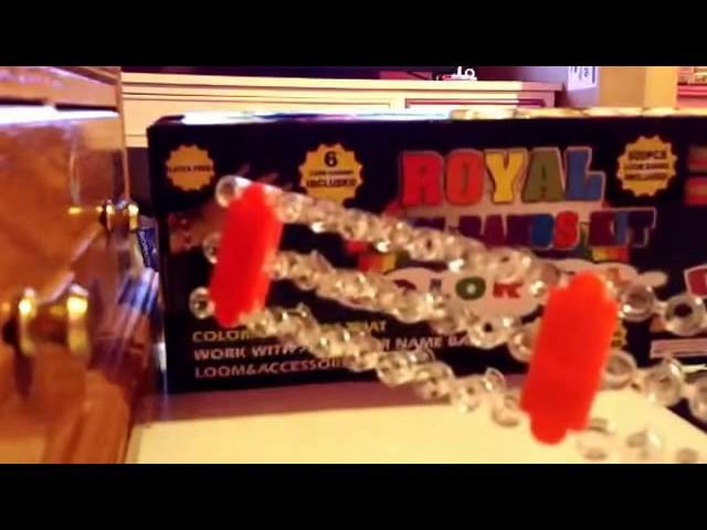 Rainbow Loom HD 2014   Royal loom band kit DIY