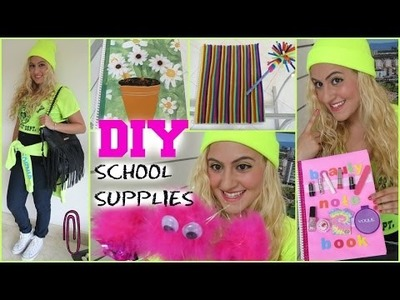 Back To School: 5 Cute + Easy DIY School Supplies