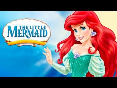 Disney Princess Collection | DIY Craft Paint Your Own Little Mermaid Ariel Princess Doll