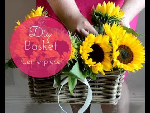 DIY Basket Centerpiece as seen on IRELAND AM | A Style of Living
