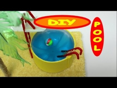 DIY Crafts: How to Make A Cute Swimming Pool Toy for Kids Recycled Bottles Crafts