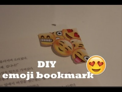 DIY Emoji bookmark