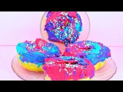 DIY Galaxy Donuts! EASY!