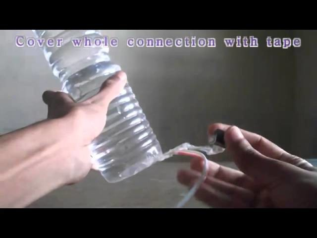 DIY:How to make Lamp with plastic bottle