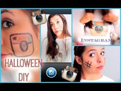 DIY Instagram Halloween Makeup + Shirt & Giveaway