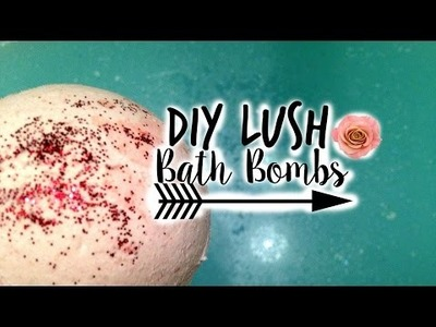 DIY Lush Bath Bombs!