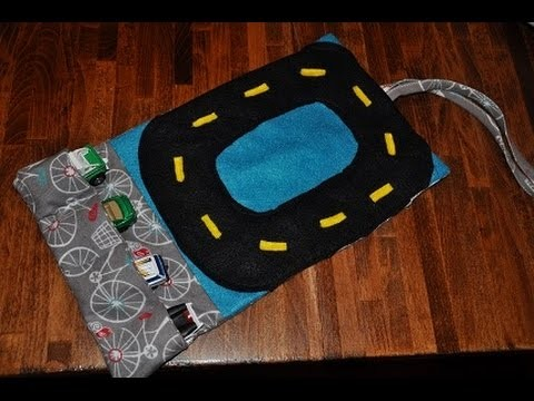 DIY Toy Car Carrier.Holder with Race Track