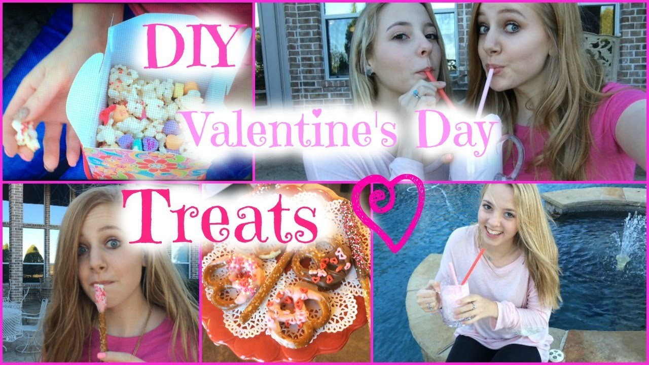 DIY Valentine's Day Treats!! Super Easy:) Watch in HD