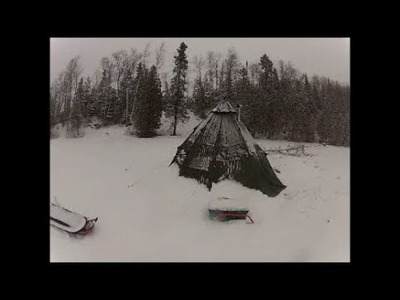 DIY WINTER TENT. HOT TENT CAMPING PROJECT - Part 1