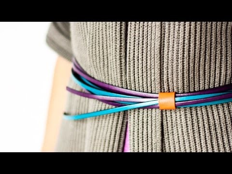 Easily Wear Any Cord as a Belt - DIY Style - Guidecentral