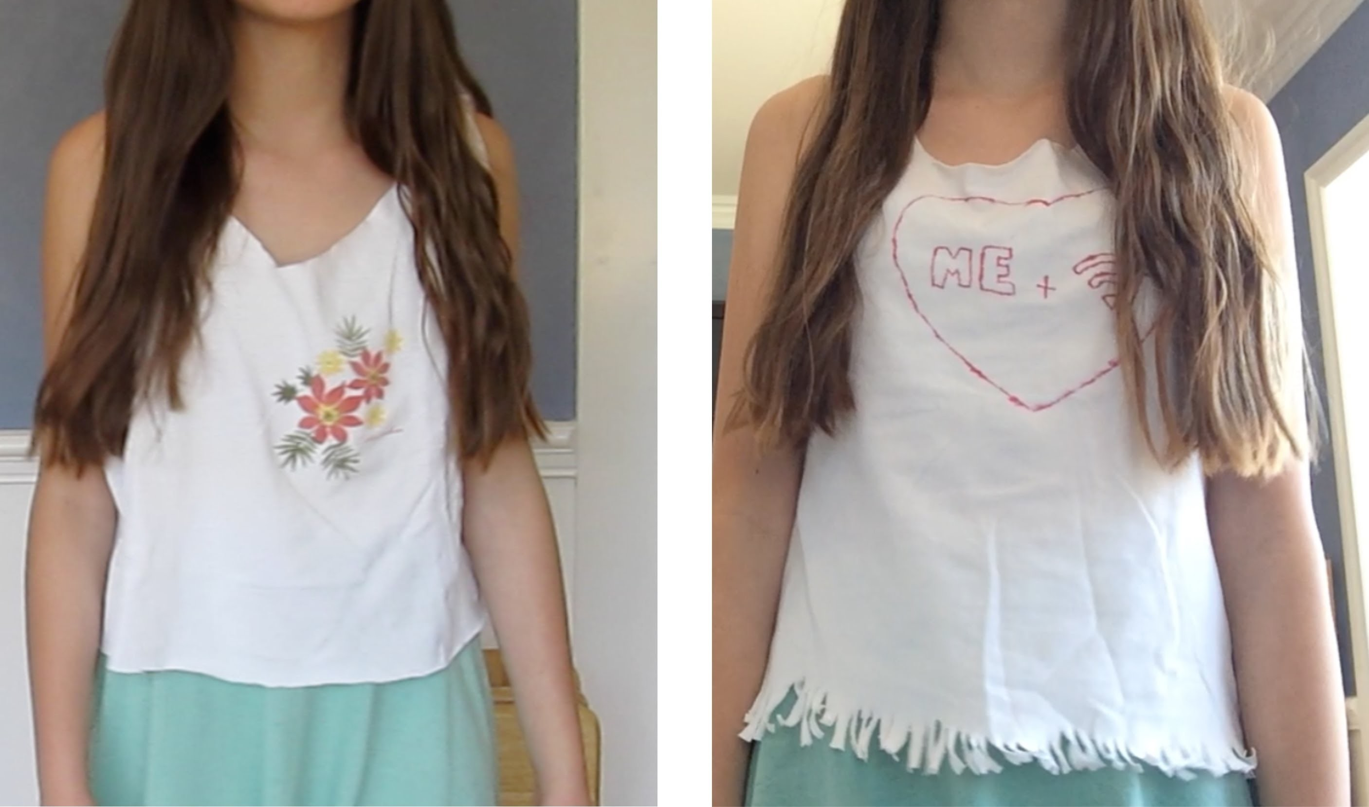 Easy and fun diy shirts!