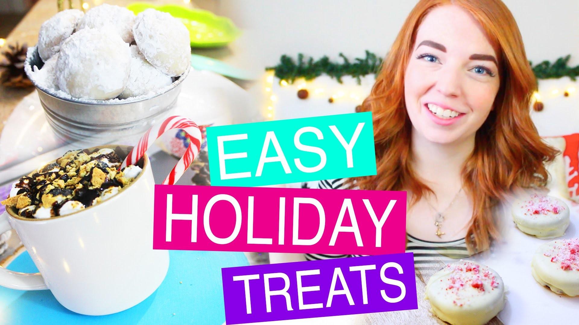 Festive & Easy DIY Holiday Treats