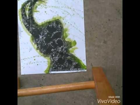 Loki Splatter Art DIY