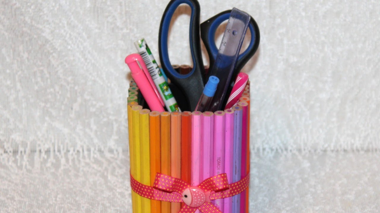 Make a Colorful Pencil Holder - DIY Home - Guidecentral