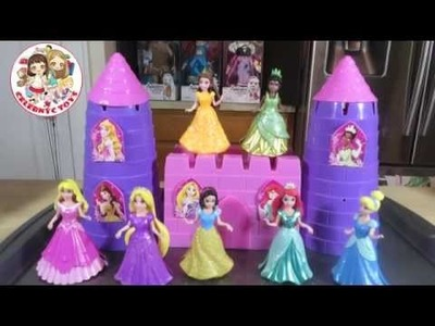 New Magiclip Disney Princess How to do Sugar Castle DIY using Beach Mold