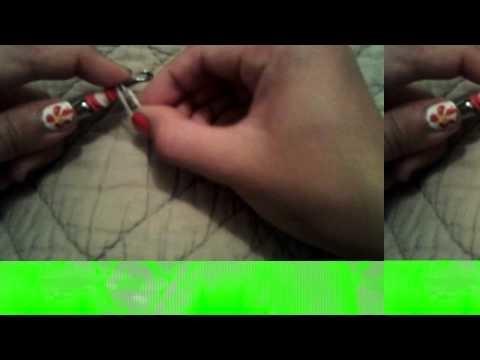 Rainbow Room peppermint candy charm tutorial easy