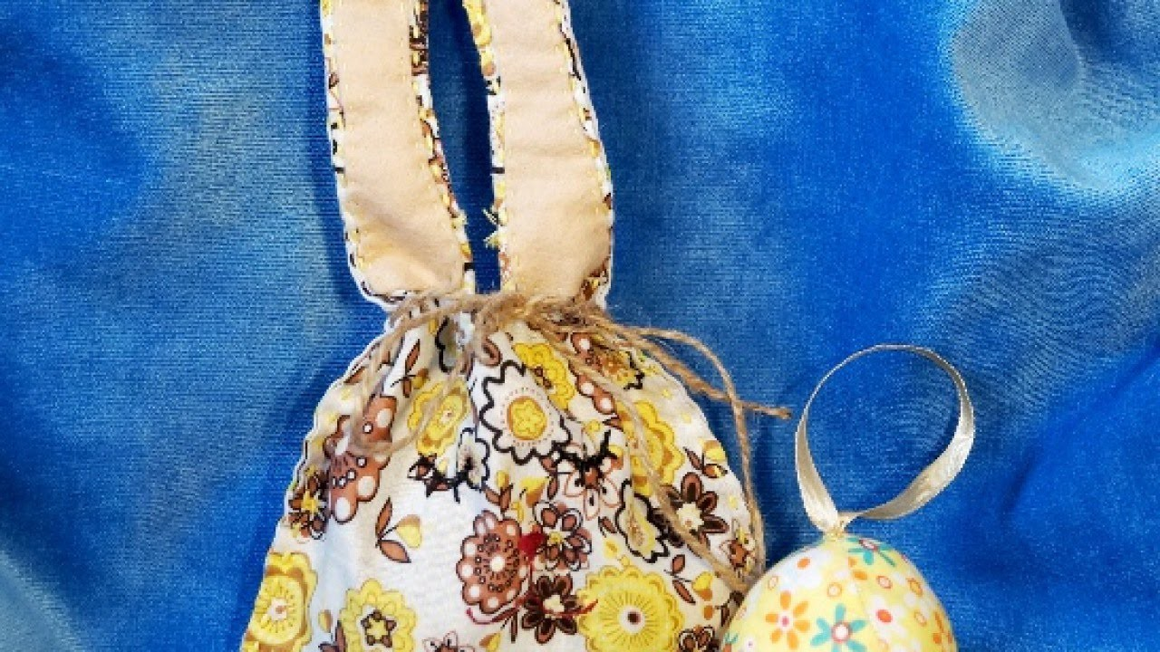 Sew a Colorful Easter Hare Purse - DIY Style - Guidecentral