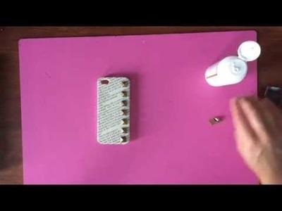 Studded Phone Case Decoration DIY