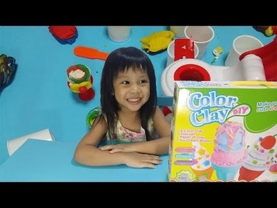 Surprise Ice Cream Color Clay DIY Kids Toy -  Youtube