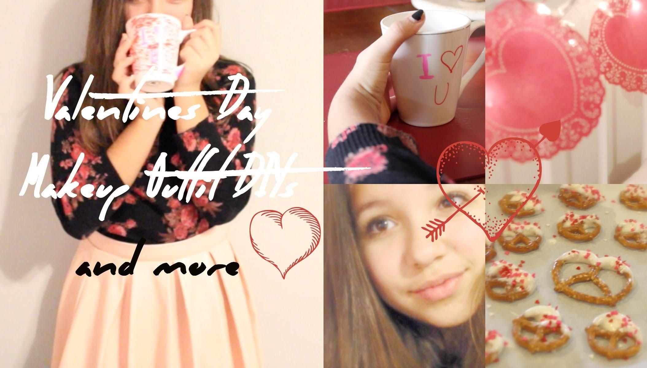 V-Day Makeup, Outfit, Treats, + DIY Decor!