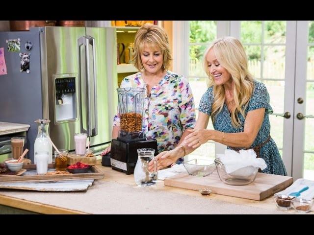 DIY Almond Milk with Cristina Ferrare on Hallmark's Home & Family
