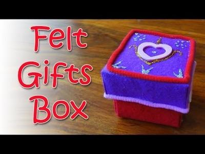 DIY crafts : Felt box - Ana | DIY Crafts