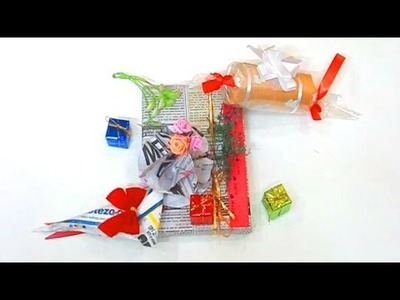 Diy Crafts - How to Make Gift Wrapping in Simple Way