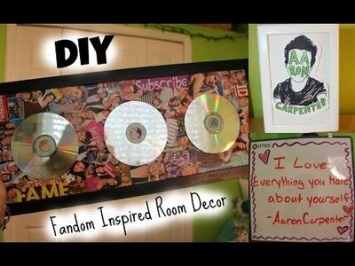 DIY Fandom Inspired Room Decor!