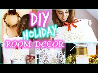 DIY HOLIDAY Room Decor | TUMBLR Inspired