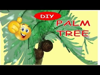 DIY Plastic Bottle Crafts: How to Make a Palm Tree Tutorial Recycled Bottles Crafts