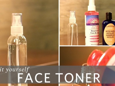 DIY Rosewater and Witch Hazel Face Toner