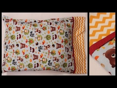 Easy Pillowcase DIY With Only Three Seams - Whitney Sews