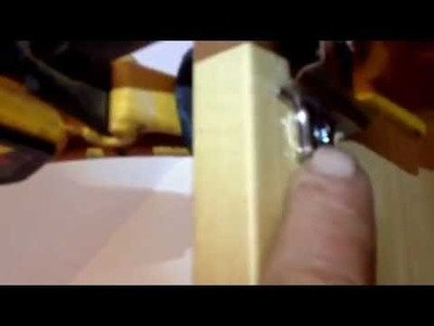 Flat pack Wardrobe hinge repair. DIY  tips  part 1