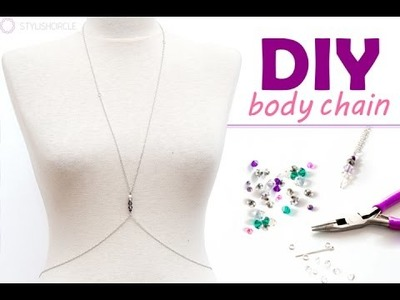 How to Make a Body Chain- Easy DIY