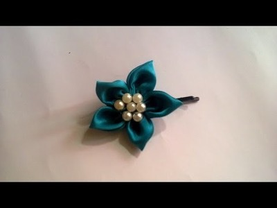 Make a Simple Floral Bobby Hair Pin - DIY Style - Guidecentral